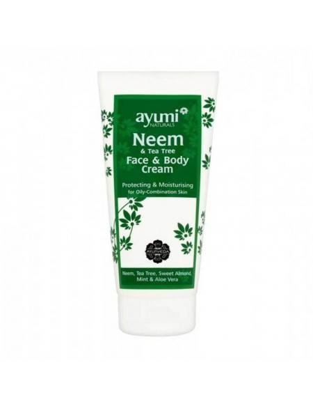 AYUMI Naturals – Neem Face And Body Cream 200 Ml