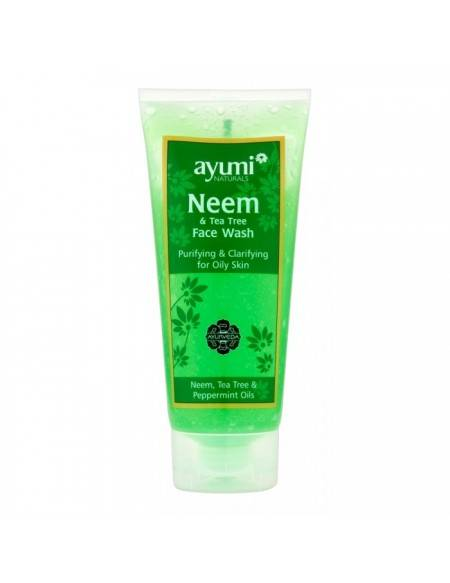 AYUMI Naturals – Neem & Tea Tree Face Wash 200 Ml