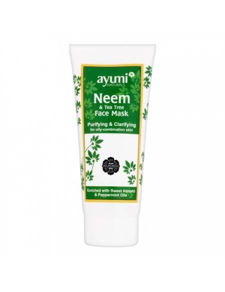 AYUMI Naturals – Neem & Tea Tree Face Mask