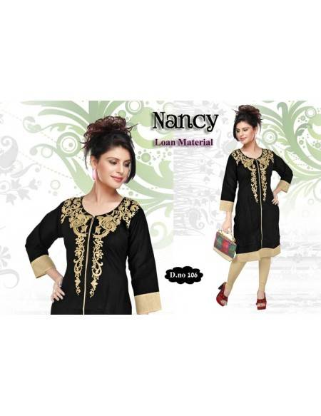 KURTI WITH EMBROIDERY (NV26)