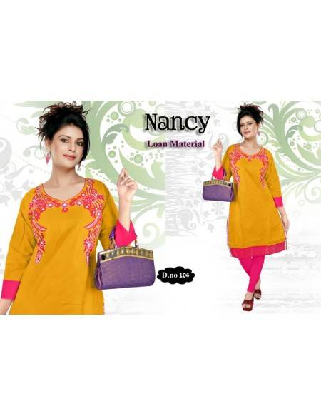 KURTI WITH EMBROIDERY (NV27)