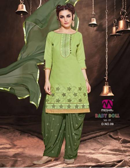 Bollywood Indian Patiyala Salwar Kameez 3 Pc (NV5)