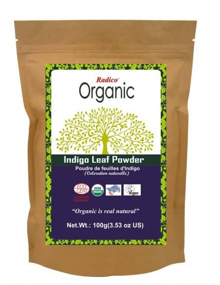 Organic Indigo Leaf Powder
